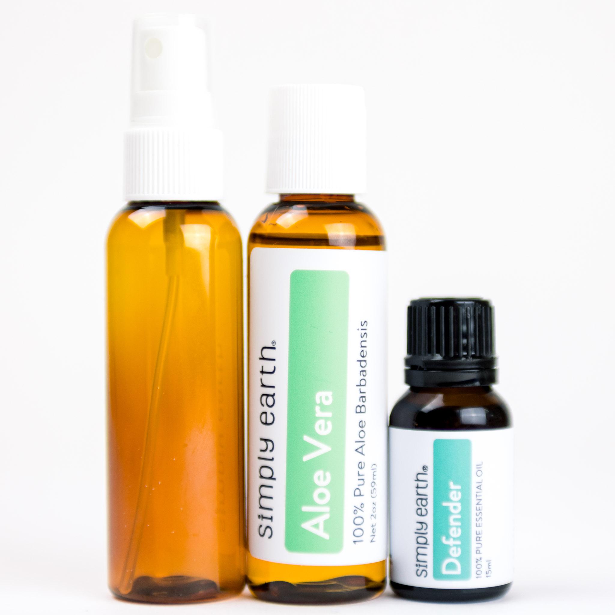 Hand Sanitizer Kit Oil: Defender