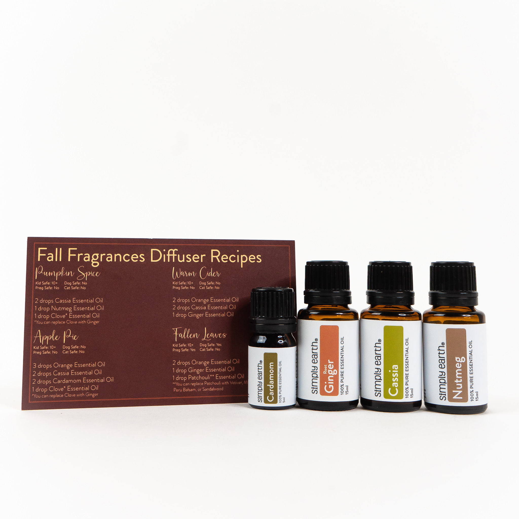 Fall Fragrance Diffuser Set Set:Basic (without diffuser)