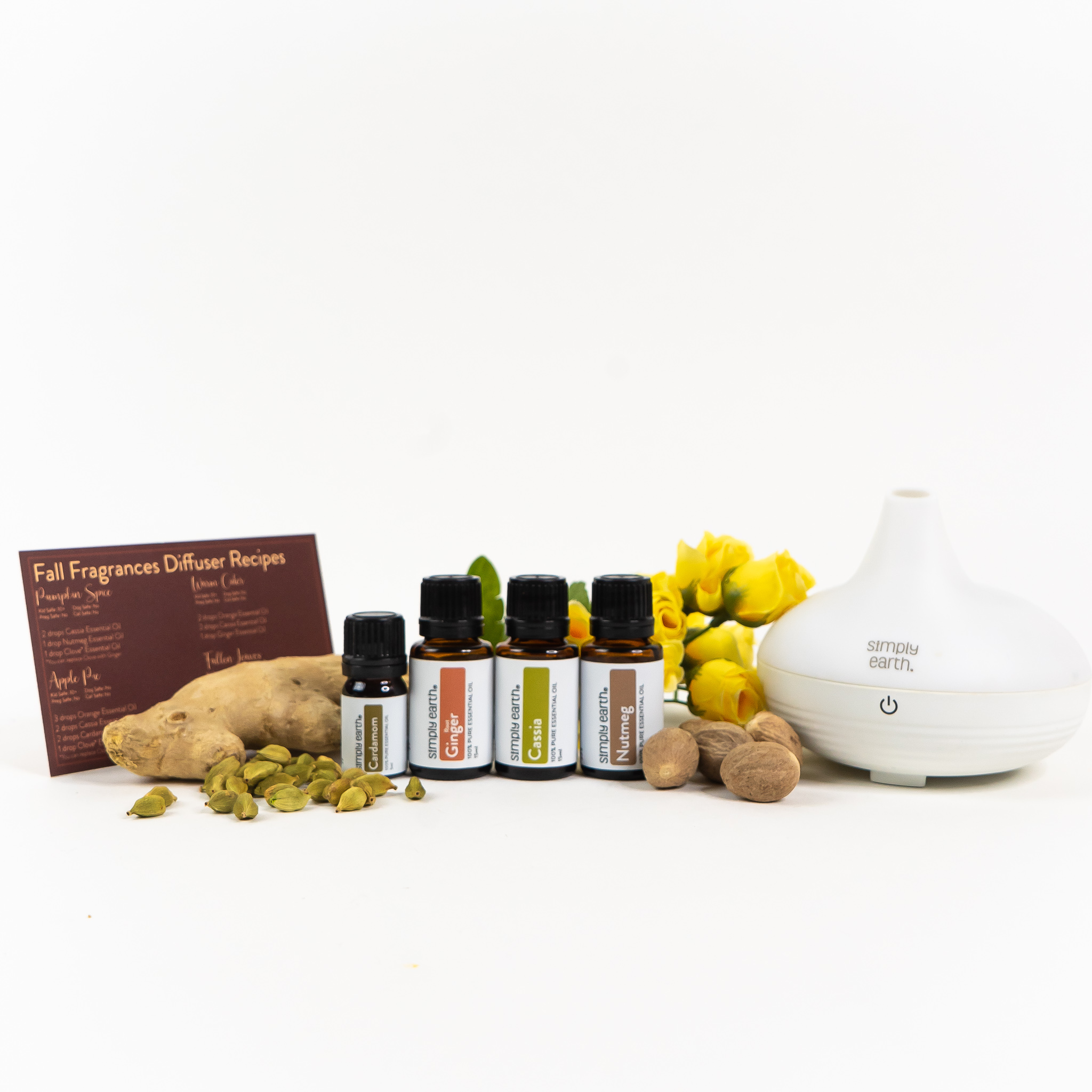 Fall Fragrance Diffuser Set Set: Deluxe (with diffuser)