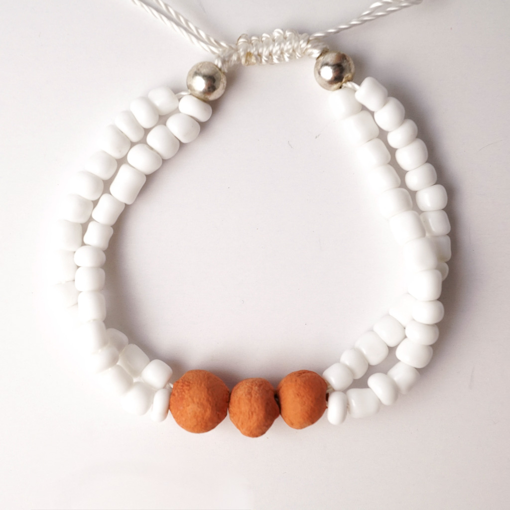 Essential Oil Jewelry - Bracelet Color: White